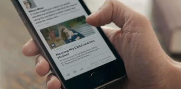 Paper es el primer producto de Facebook Creative Labs. (YouTube)