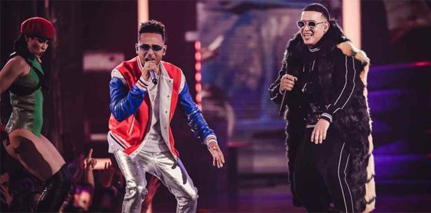 Ozuna y Daddy Yankee (Suministrada/Univision)