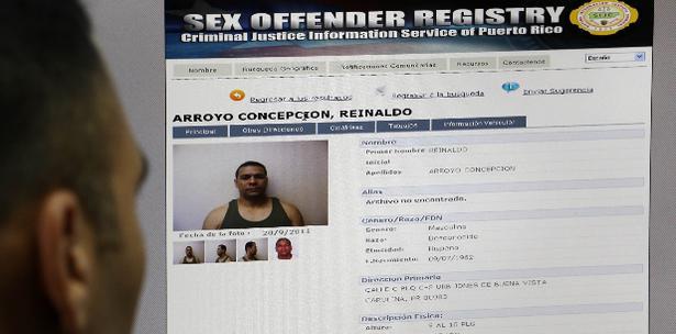 Ley 266 registro ofensores sexuales