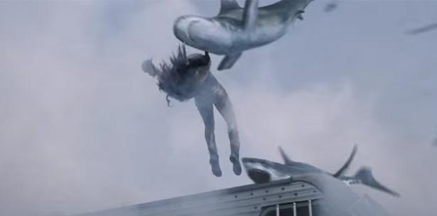 """Lloverán más tiburones en la cuarta parte de """"Sharknado"""""""