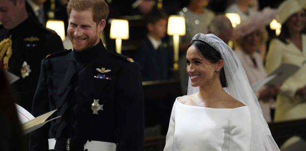 Príncipe Enrique y Meghan Markle se unen en matrimonio 0888b308990