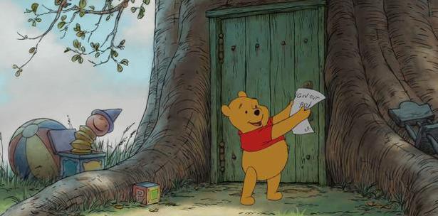 Resultado de imagen para subastan en mas de medio millon de dolares el mapa original dibujado del bosque de Winnie the pooh