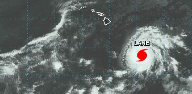 Huracán Lane categoría cuatro se acerca al archipiélago de Hawái (primerahora.com)