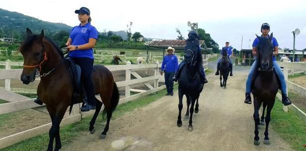 En equitación se espera la participación de unos 90 jinetes y amazonas  durante los dos días de competición. (Suministrada) 4a85e4d6f79