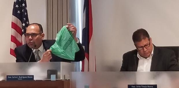 A pagar por las bolsas compostables
