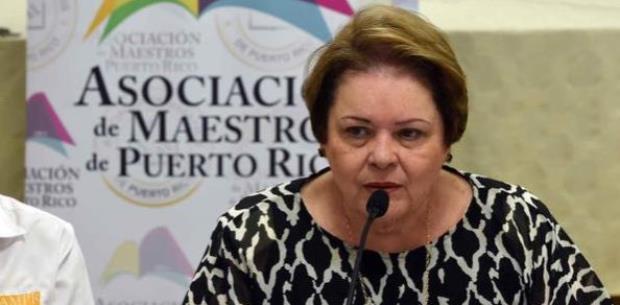 Aida Díaz no renunciará a la Asociación de Maestros