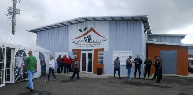 Inauguran en Juncos un centro para la rehabilitación del adicto