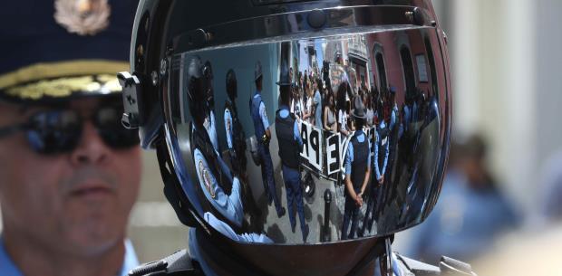 Traerán policías de cinco pueblos para la manifestación en el VSJ