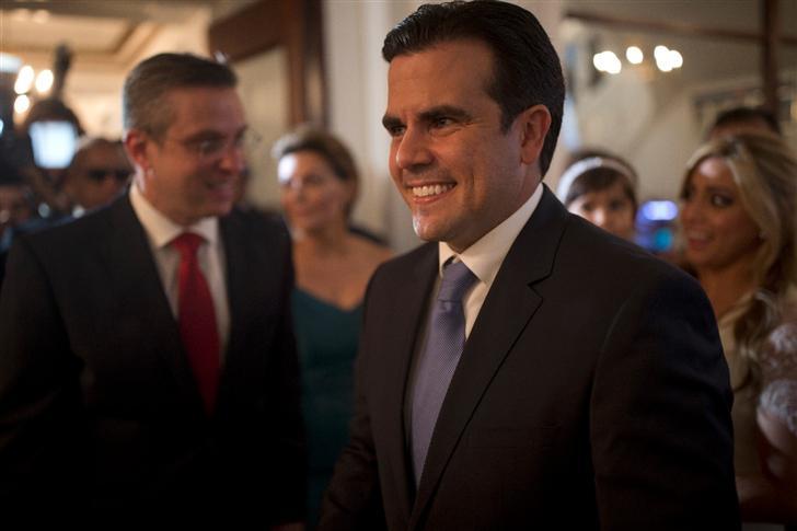 Ricardo Rosselló Juramenta Como Gobernador De Puerto Rico